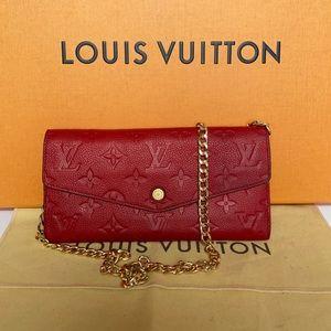 Louis Vuitton Empreinte curieuse with insert